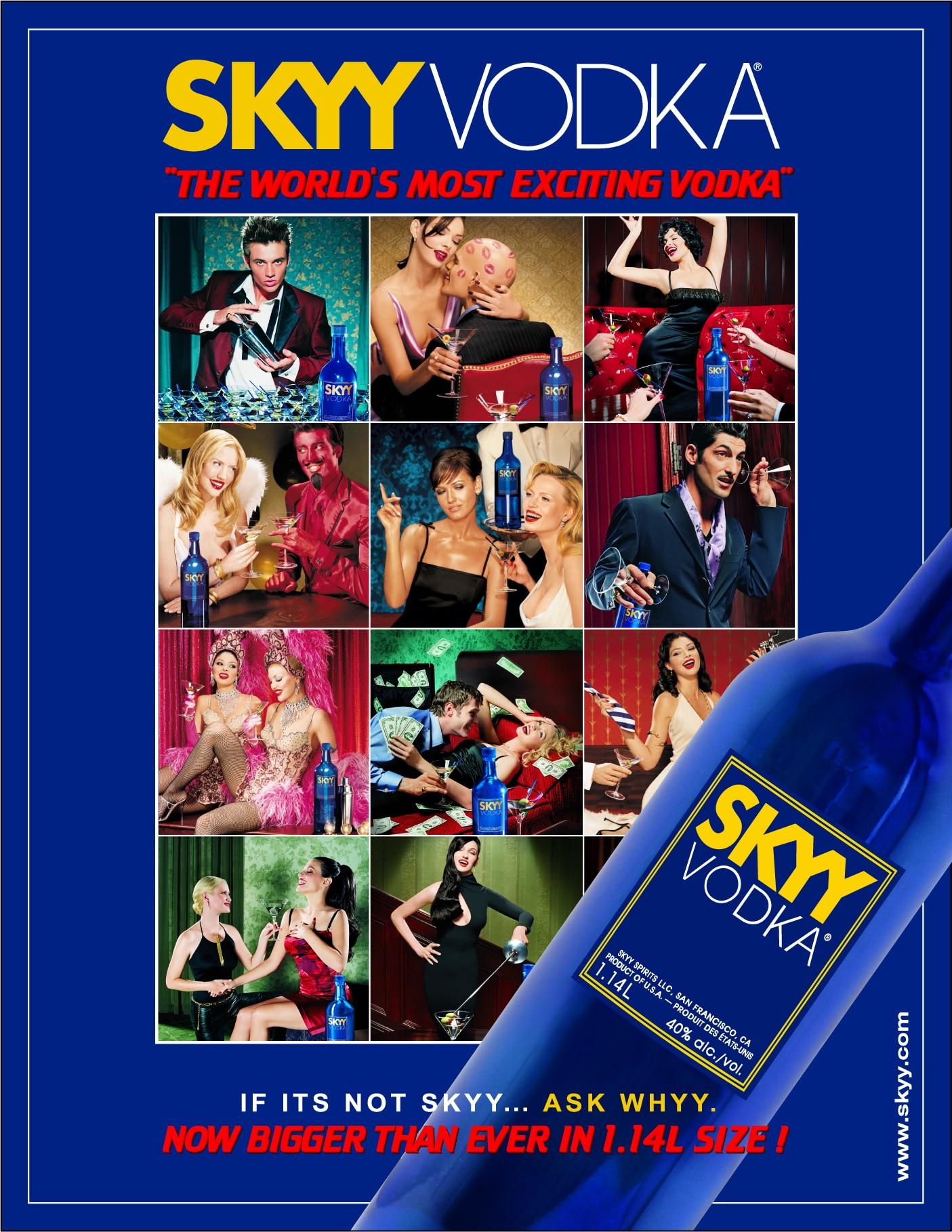 Skyy Vodka Magazine Ad 2