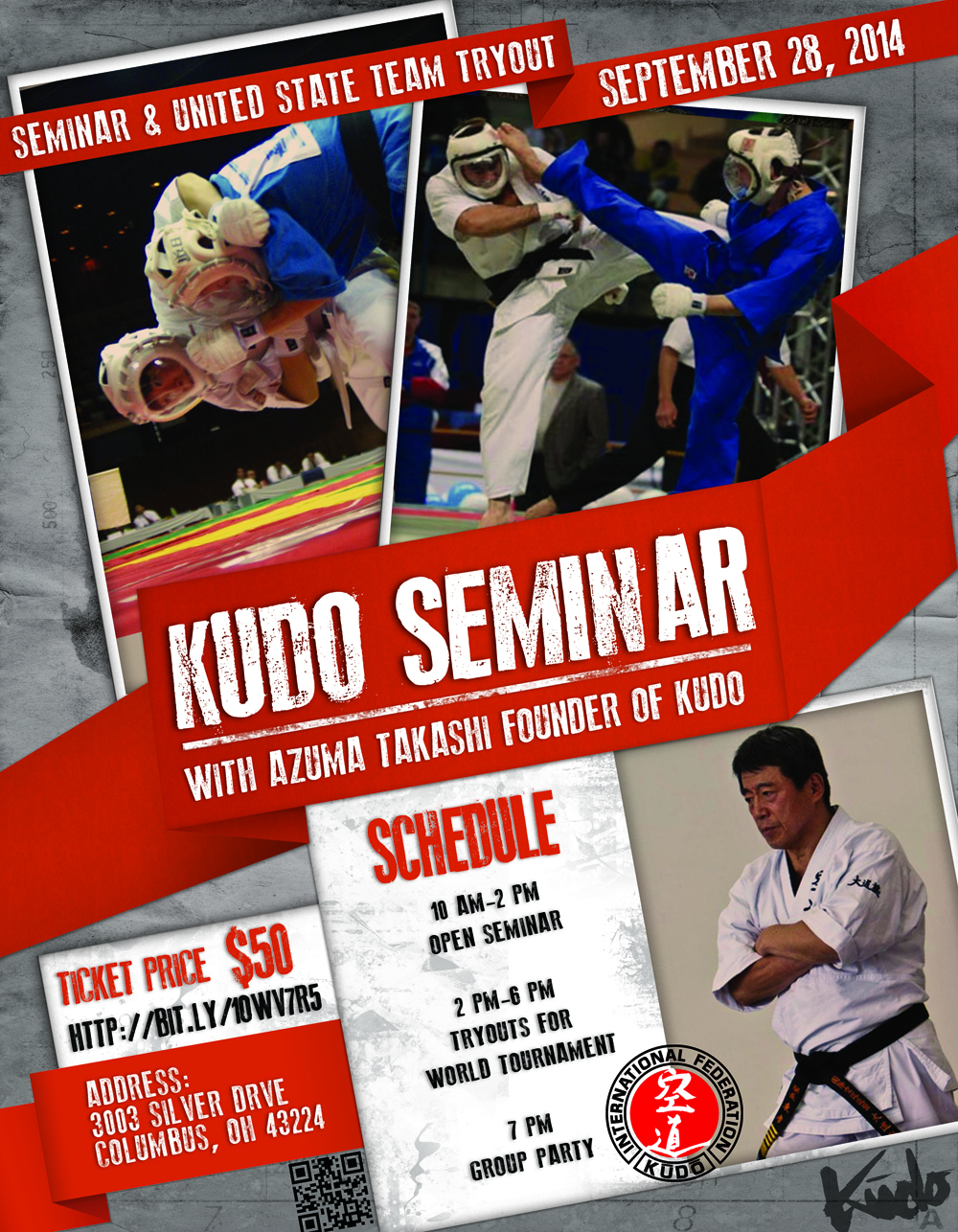 Martial Arts Flyer for Kudo